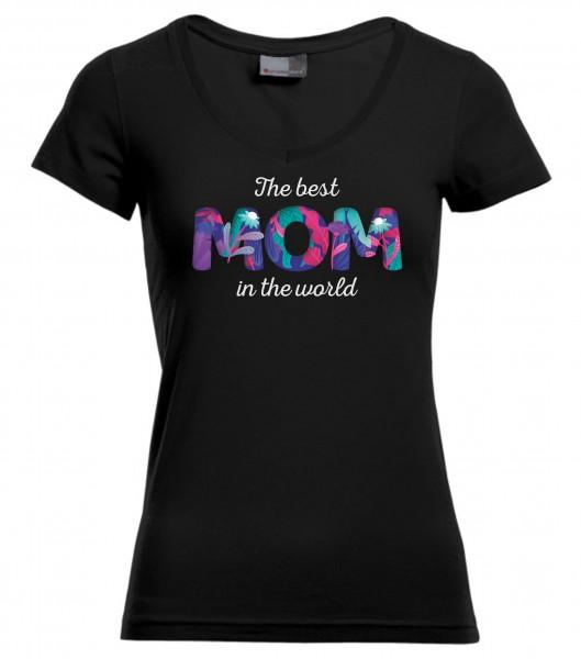 Slim-Fit-V-Neck-T - Best Mom