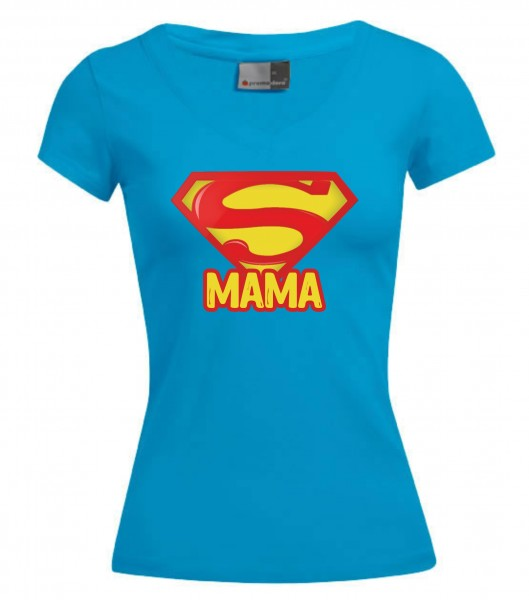 Wellness-V-Neck-T - Super Mama