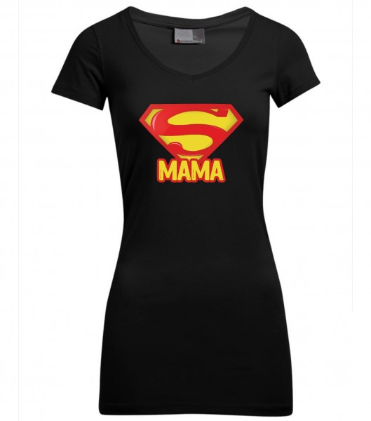 Slim-Fit-V-Neck-T Long - Best Mom
