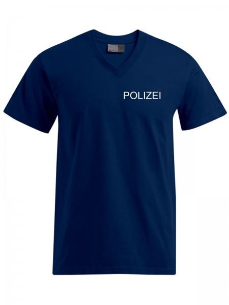 POLIZEI Men's Premium V-Neck-T