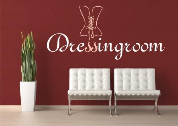 """Wandtattoo """"Dressingroom #2"""" - 2farbig"""