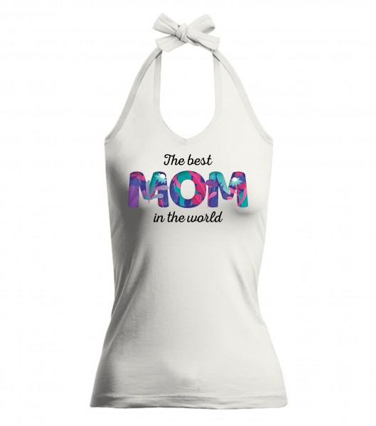 V-Neckholder-Top - Best Mom