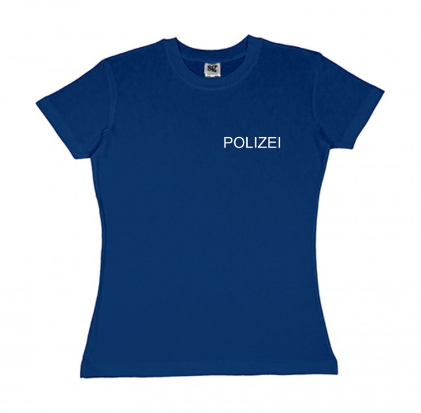 Damen - Polizei - Shirt - BASIC