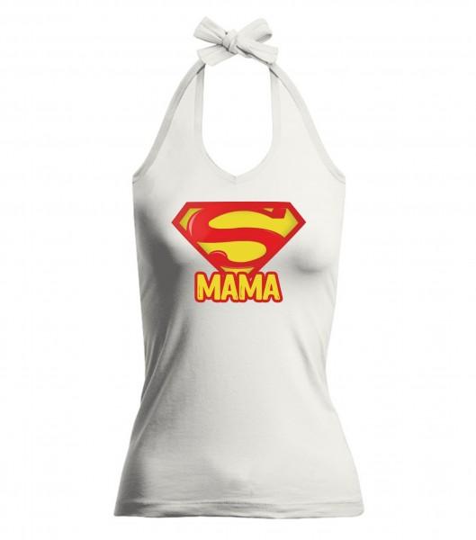 V-Neckholder-Top - Super Mama