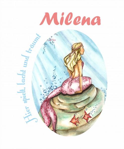 Meerjungfrau - hier spielt, lacht und träumt...