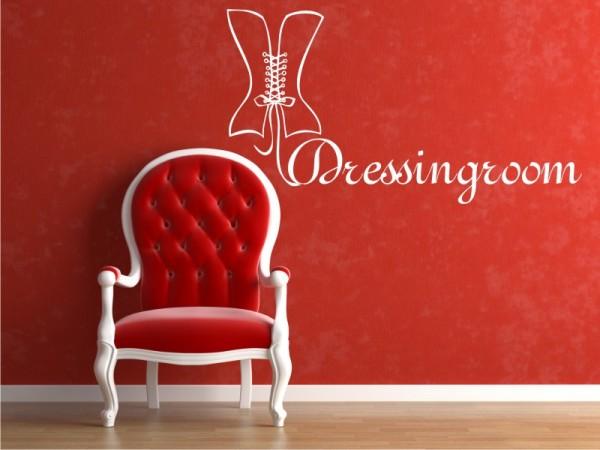 "Wandtattoo ""Dressingroom #1"""