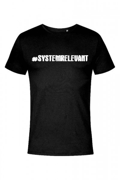Systemrelevant - X.O Roundneck T-Shirt Men