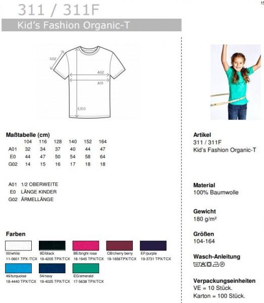 Kid's Fashion Organic-T - Jeder hat mal klein angefangen