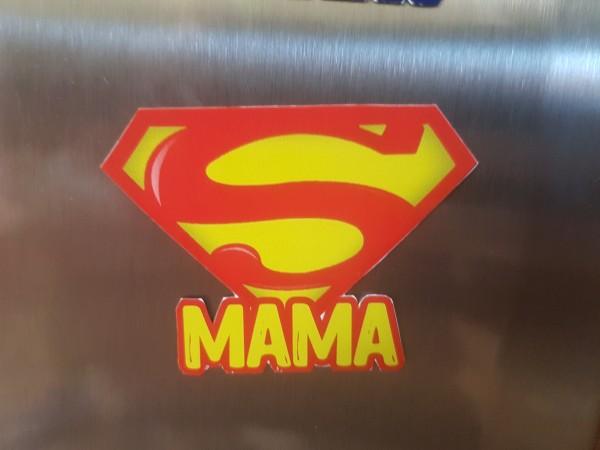 """Magnet """"SUPER-MAMA"""""""