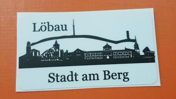 "Magnet ""Löbau - Stadt am Berg"""