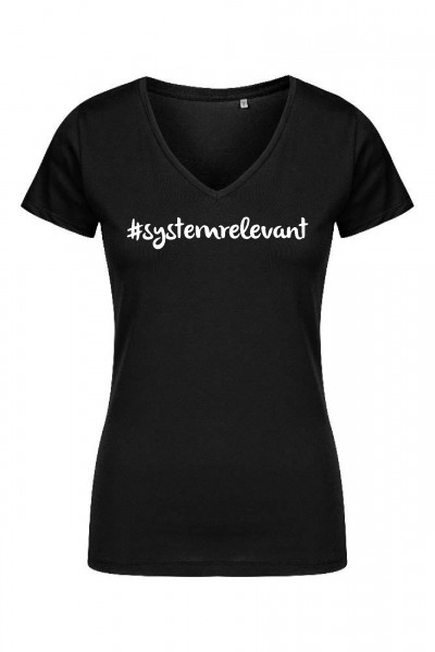Systemrelevant - X.O V-Neck T-Shirt Women